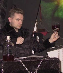Armin Rudziok im Sessel
