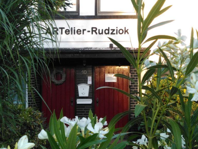 Hauseingang Artelier-Rudziok